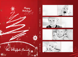 how to design a photo collage holiday card in photoshop
