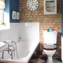Period Style Bathroom Ideas Housetohome Co Uk by Easy Bathroom Decorating Ideas Brick Bathroom Exposed Brick And
