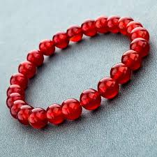 red stone bracelet images Elastic rope natural stone bracelet the enchanted forest jpg