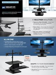 amazon com mount it sit stand workstation standing desk