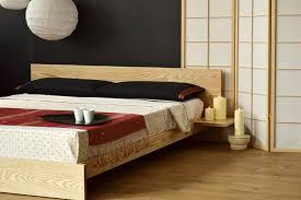 Upholstered Bed Frame Full Bedroom Storage Headboards Wooden Platform Bed Wood And