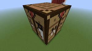How To Make A Crafting Table Giant Crafting Table In Minecraft By Axelrules1231 On Deviantart
