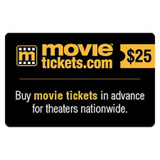tickets gift card movietickets 50 value gift cards 2 x 25 sam s club