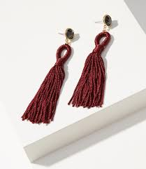 statement earrings tassel statement earrings loft