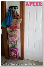 entryway backpack storage organizing ideas entry storage