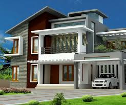 Modern Hill House Designs Intelligent Hill Country Contemporary Elevation Sqfeet 4 Bedroom