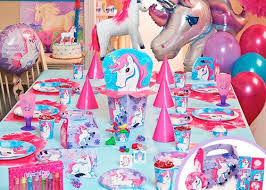 girl birthday party themes magical unicorn birthday theme birthday party ideas
