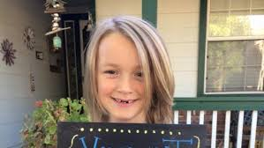 7 year old boy hair story of 7 year old boy who grew out hair for cancer patients