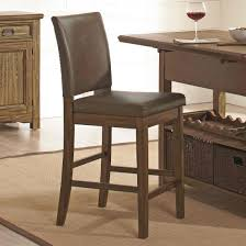 Rustic Leather Dining Chairs by Chairs Astonish Counter Height Chairs Design Wayfair Counter
