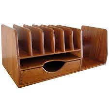 Designer Desk Organizer A Hans Wegner Teak Wood Desk Organizer C 1960 S Hans