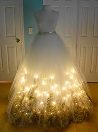 Light Up Halloween Tree by Making A Christmas Angel Costume Part One Designers Tulle