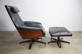 Ottoman Modern Mid Century Modern George Mulhauser Plycraft Mr Chair Bentwood
