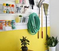 garage wall covering plastic home decor finish options ideas