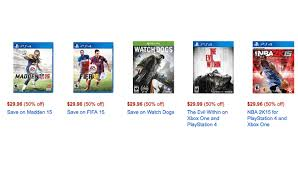 what is amazon black friday sale xbox one and ps4 games are in lightning amazon black friday sale now