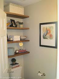 White Shelves For Bathroom - small bathroom shelves simple home design ideas academiaeb com
