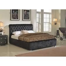 Crushed Velvet Bed California Crushed Velvet Storage Bed From Ms Furnishings Uk