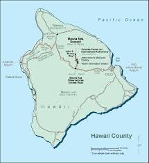Hawaii Island Map Ifa Educational Outreach
