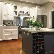best dulux white paint for kitchen cabinets painted kitchen project dulux antique white usa on rear