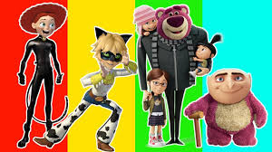 Toy Story Family Halloween Costumes by Wrong Heads Despicable Me Gru Toy Story Jessie Lotso Cat Noir