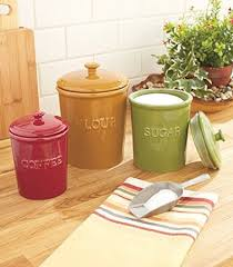 funky kitchen canisters red canisters kitchen storage organizer counter top decor ceramic