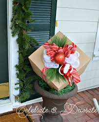 Outdoor Christmas Decoration Packages by Next Time You Get A Package Save The Box And Make This Gorgeous