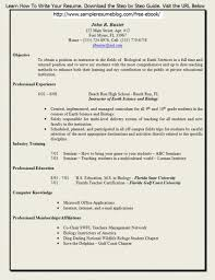 Sample Resume For Lecturer by Free Teacher Resume Templates