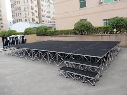 Used Stage Curtains For Sale Portable Smart Stage System For Outdoor Events