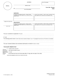 Post Marital Agreement Template Stunning Sample Of A Divorce Decree Pictures Office Worker