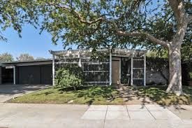 palo alto eichler with pool and cabana asks 2 million curbed sf