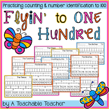 reinforce counting to 100 with these no prep interactive