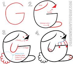 big guide to drawing cartoon bunny rabbits with basic shapes for
