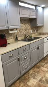 can you use chalk paint on melamine kitchen cabinets how i painted my melamine cabinets melamine cabinets