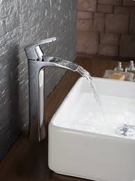 Modern Faucets For Bathroom Sinks by Bathroom Using Vessel Faucet Wearefound Home Design