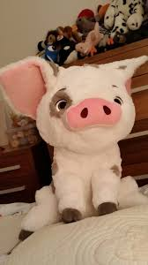 pua the pig from moana large plush from disney parks disney