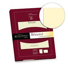 What Type Of Paper Should I Print My Resume On Amazon Com Southworth Exceptional Resume Folders Envelopes