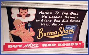 Burma Shave Meme - the big brush off ameripics