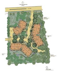 Site Floor Plan by Site Plan Glen Wood Heights