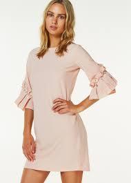 robe en dessous des genoux robes femme robes glamour élégantes casual liu jo en ligne