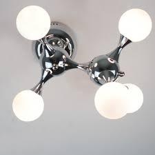 Chrome Flush Mount Ceiling Light by Dna Chrome Flush Mount Ceiling Light Five Light Beautifulhalo Com