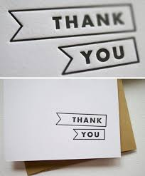 three letters cool thank you cards model spectacular message
