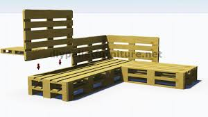 canapé d angle en palette chambre canapé angle palette photos palettes bois canape dangle