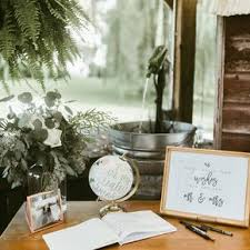 rustic wedding guest book rustic wedding guest books
