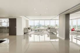 paint hall luxury penthouse apartment hall contemporary with porcel thin