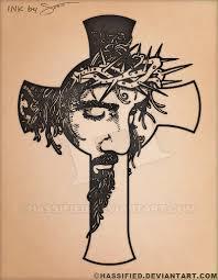 Jesus Cross Tattoos On - jesus cross by hassified on deviantart
