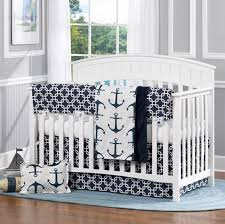 Crib Bedding Boys Navy And Gray Elephants Crib Bedding Carousel Designs Safari Baby