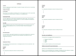 How To Write Resume For Job How To Write An Resume For A Job Resume Peppapp
