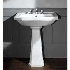 Art Deco Bathroom Sink Silverdale Empire Art Deco 700mm Wide Basin With Full Pedestal Online