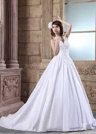 a line princess wedding dress chic modern halter top wedding dress beaded taffeta a line