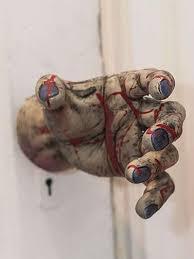 zombie hand door knob cover halloween door decorations zombie