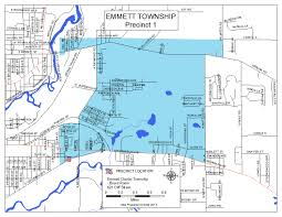 Michigan Township Map by Calhoun County Clerk And Register Of Deeds Directoryprecinct
